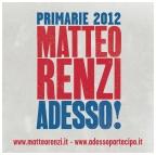 Primarie 2012 - Renzi