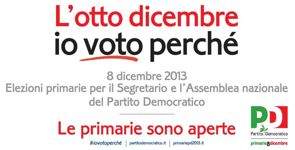 L'otto dicembre io voto perché