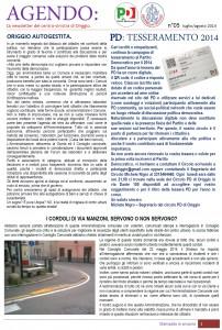 AGENDO n°05 luglio-agosto 2014